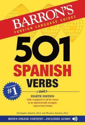 bokomslag 501 Spanish Verbs
