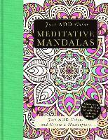bokomslag Meditative Mandalas: Gorgeous Coloring Books with More Than 120 Pull-Out Illustrations to Complete