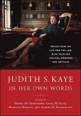 bokomslag Judith S. Kaye in Her Own Words
