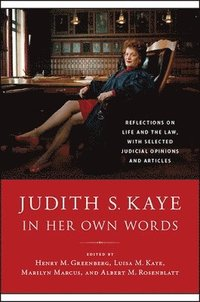 bokomslag Judith S. Kaye in Her Own Words