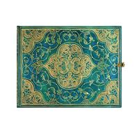 Gästbok Paperblanks - Turquoise Chronicles