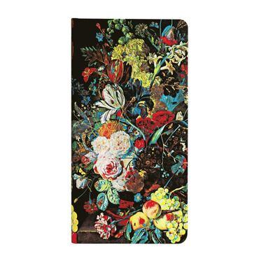 Anteckningsbok Paperblanks Slim linjerad - Van Huysum