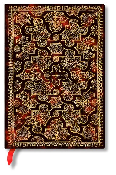 Anteckningsbok Paperblanks Midi olinjerad - Mystique  1