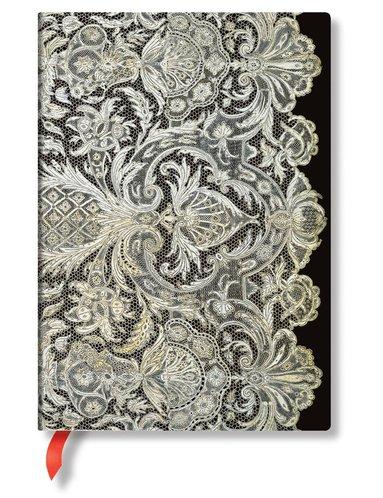 Anteckningsbok Paperblanks Midi olinjerad - Ivory Vail
