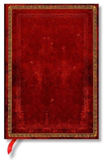 Anteckningsbok Paperblanks Midi linjerad - Venetian Red