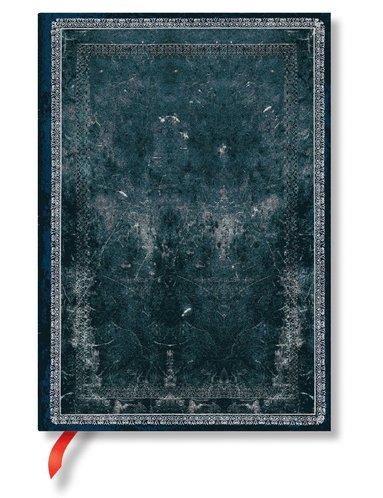 Anteckningsbok Paperblanks Midi linjerad - Midnight Steel