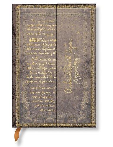 Anteckningsbok Paperblanks Mini linjerad - Tagore  1