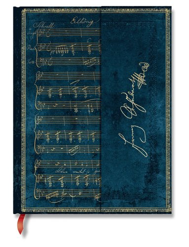 Anteckningsbok Paperblanks Ultra olinjerad - Schubert