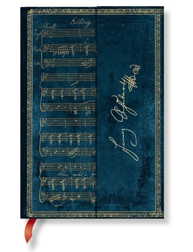 Anteckningsbok Paperblanks Mini linjerad - Schubert