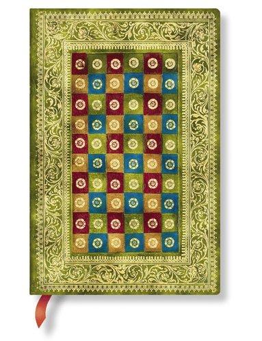 Anteckningsbok Paperblanks Mini linjerad - Verde  1