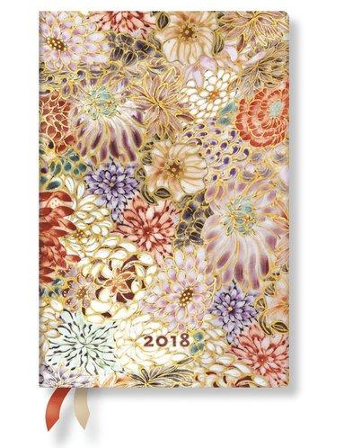 Kalender 2018 Paperblanks Kikka Mini Vecka/Uppslag horisontal