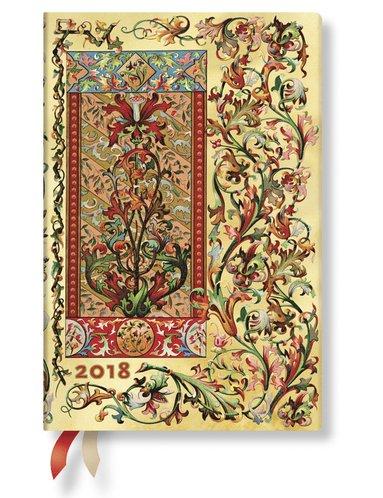 Kalender 2018 Paperblanks Tuscan Sun Mini Vecka/Uppslag horisontal