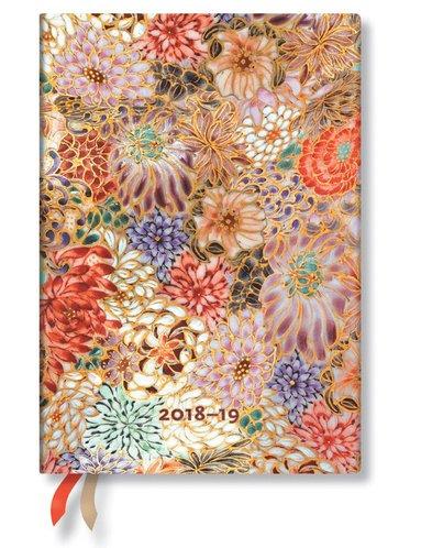Kalender 2018-2019 18 mån Midi Kikka Vecka/Uppslag