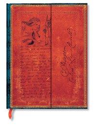 Anteckningsbok Paperblanks Ultra olinjerad - Alice in Wonderland