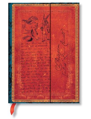 Anteckningsbok Paperblanks Midi linjerad - Alice in Wonderland