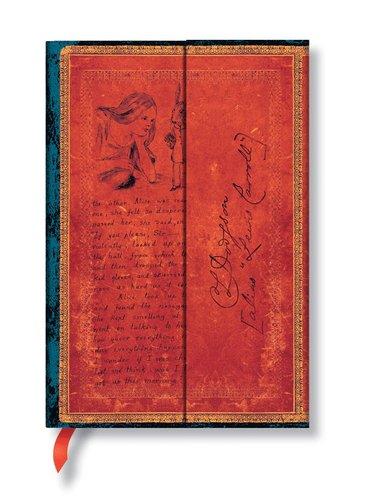 Anteckningsbok Paperblanks Mini linjerad - Alice in Wonderland