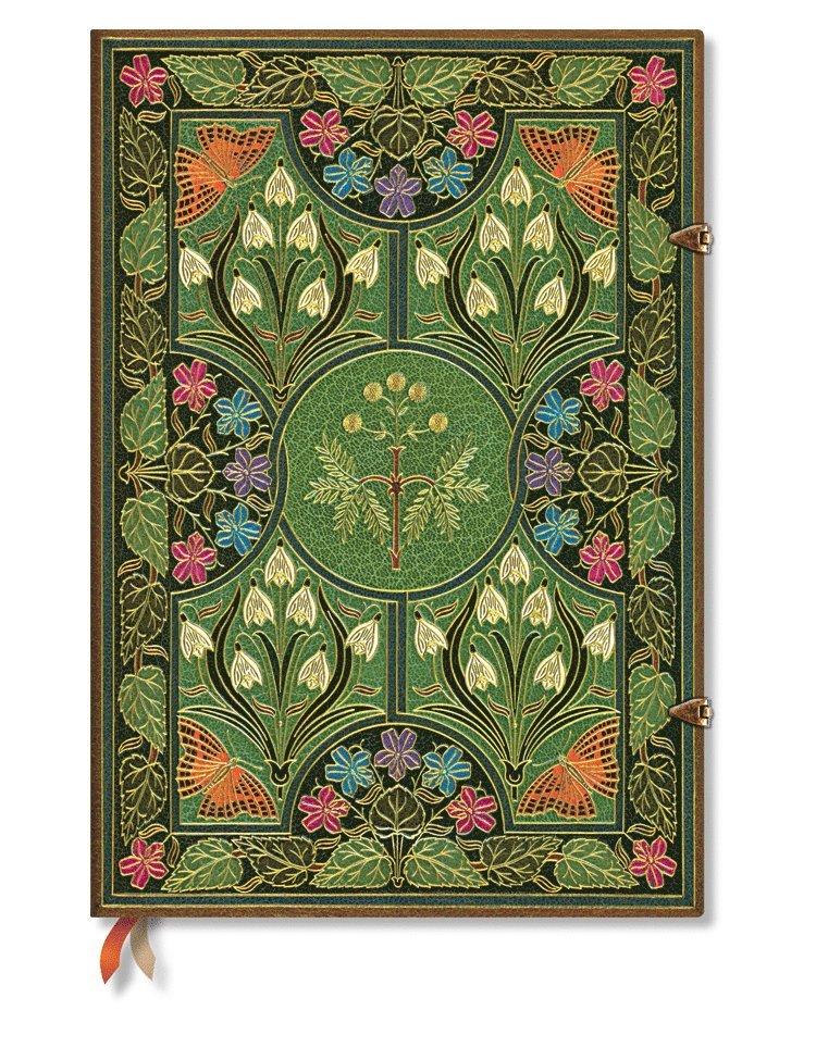 Anteckningsbok Paperblanks Grande olinjerad - Poetry in Bloom 1