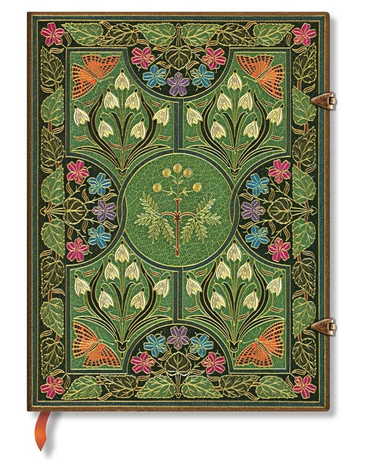 Anteckningsbok Paperblanks Ultra linjerad - Poetry in Bloom 1