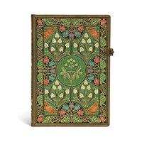 Anteckningsbok Paperblanks Midi linjerad - Poetry in Bloom