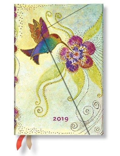 Kalender 2019 Paperblanks Mini Hummingbird Vecka/Uppslag