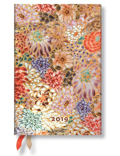 Kalender 2019 Paperblanks Mini Kikka Vecka/Uppslag