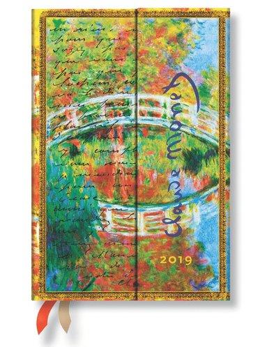 Kalender 2019 Paperblanks Mini Monet Vecka/Uppslag