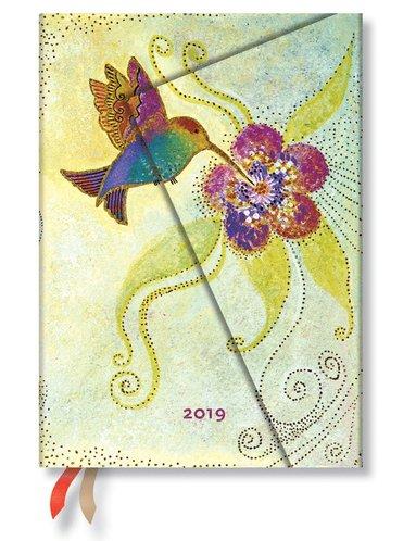 Kalender 2019 Paperblanks Midi Hummingbird Dag/Sida