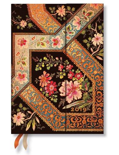 Kalender 2019 Paperblanks Midi Filigree Ebony Vecka/Uppslag
