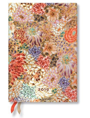 Kalender 2019 Paperblanks Midi Kikka Vecka/Uppslag