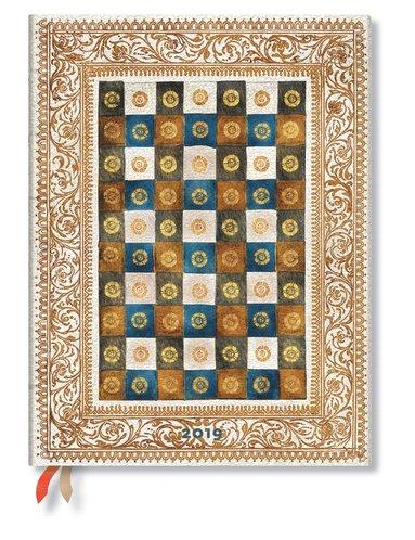 Kalender 2019 Paperblanks Ultra Aureo Vecka/Uppslag