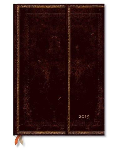 Kalender 2019 Paperblanks Grande Black Maroccan Vecka/Uppslag