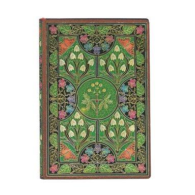 Anteckningsbok Paperblanks Flexi Mini linj Poetry in Bloom 1