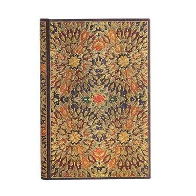 Anteckningsbok Paperblanks Mini linjerad - Fire Flowers