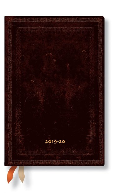 Kalender 2019-2020 18 mån Mini Black Maroccan