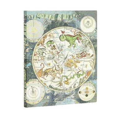 Anteckningsbok Paperblanks Flexi Ultra linj Celestial Planisphere 1