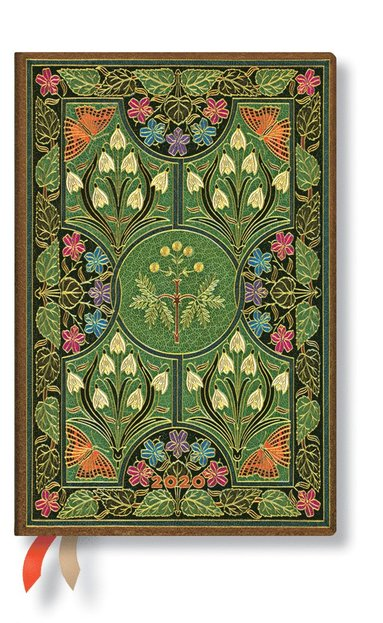 Kalender 2020 Paperblanks Mini Poetry in Bloom