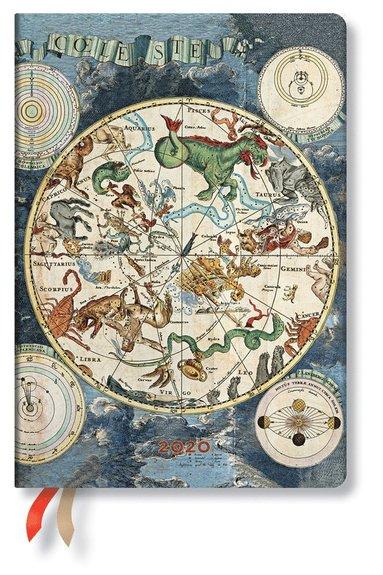 Kalender 2020 Paperblanks Midi Celestial Planisphere
