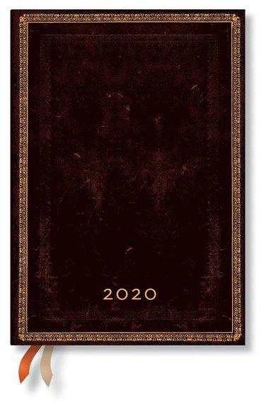 Kalender 2020 Paperblanks Midi Black Maroccan