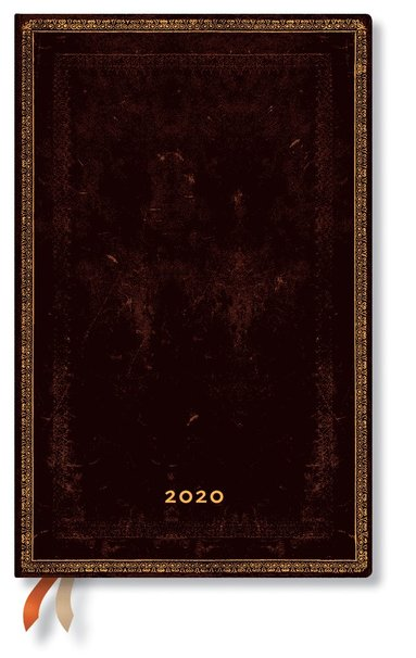 Kalender 2020 Paperblanks Maxi Black Maroccan
