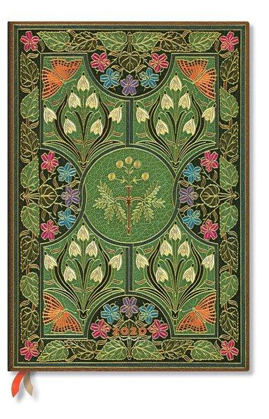 Kalender 2020 Paperblanks Grande Poetry in Bloom