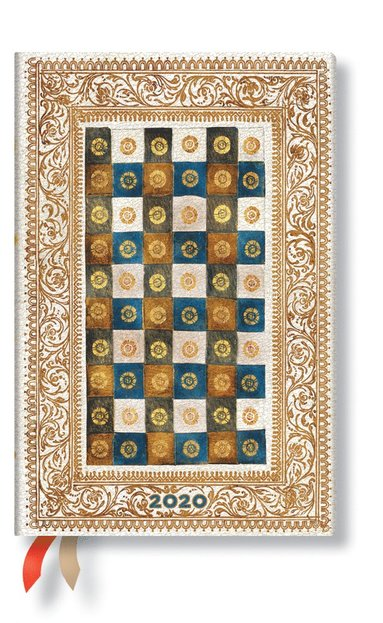 Kalender 2020 Paperblanks Mini Flexi Aureo