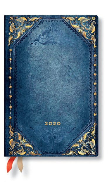 Kalender 2020 Paperblanks Mini Flexi Peacock Punk