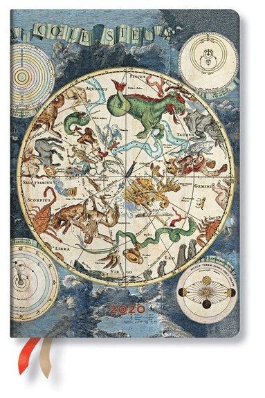 Kalender 2020 Paperblanks Midi Flexi Celestial Planisphere
