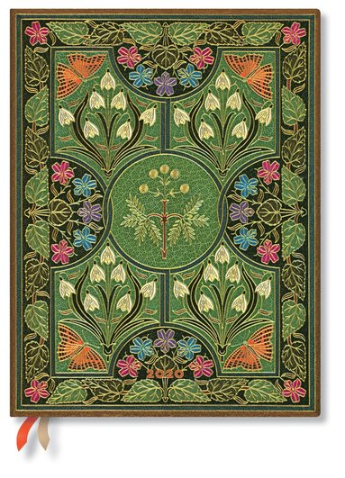 Kalender 2020 Paperblanks Ultra Flexi Poetry in Bloom