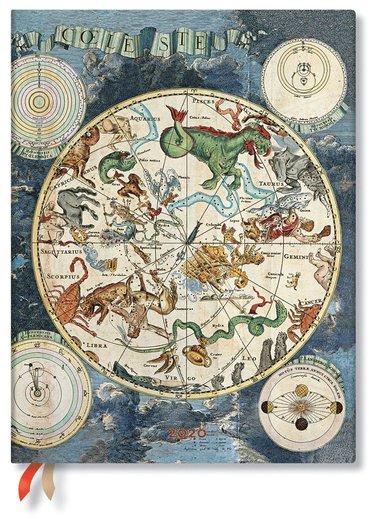 Kalender 2020 Paperblanks Ultra Celestial Planisphere
