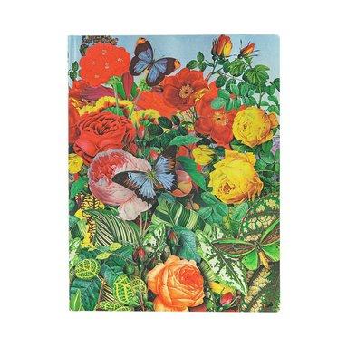 Anteckningsbok Paperblanks Flexi Ultra - Butterfly Garden 1