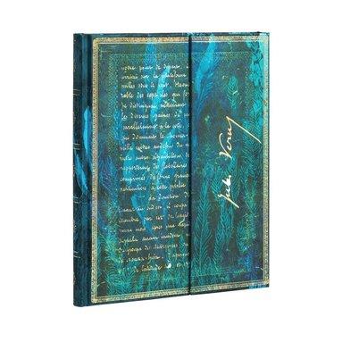 Anteckningsbok Paperblanks Ultra linjerad - Jules Verne - Twenty Thousand Leagues 1