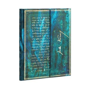 Anteckningsbok Paperblanks Ultra olinj Jules Verne - Twenty Thousand Leagues 1