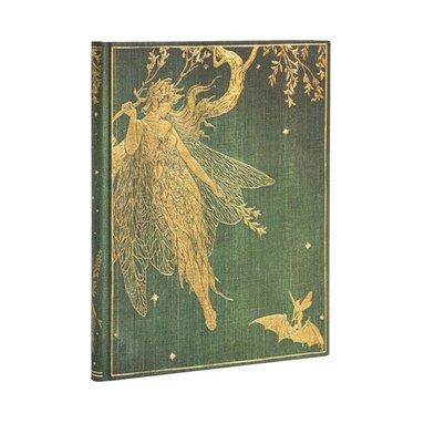 Anteckningsbok Paperblanks Ultra linj Olive Fairy 1