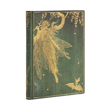 Anteckningsbok Paperblanks Midi olinjerad - Olive Fairy 1